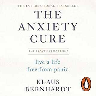 The Anxiety Cure audiobook cover art