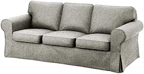 Best IKEA Ektorp 3 Seat Sofa Cover Replacement is Custom Made Slipcover for IKEA Ektorp Sofa Cover (Polye