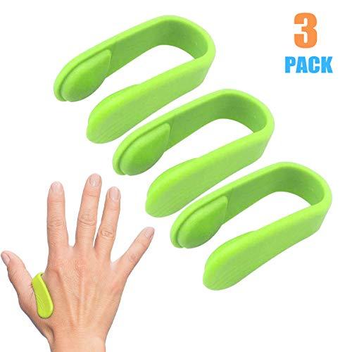 3 PCS Kopfschmerz-Druckclip Akupressur-Set, Migräne-Linderung Natürlicher Spannungsabbau Tragbare Akupressur Anti Stress Fingermassage