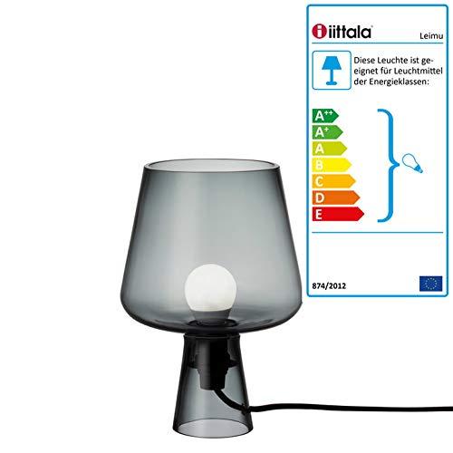 Iittala 1026414 Leimu Lampe 240 x 165 mm, grau