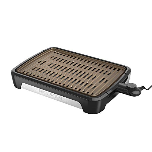 George Foreman GFS0172SB, Party Size, Black