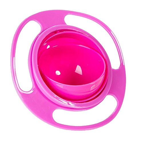 ForuMall - Baby-Gyroskop-Schüssel, 360°drehbar, kein Verschütten