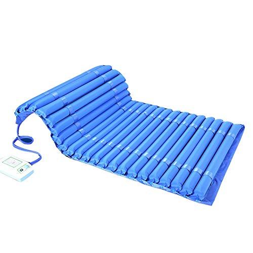 ZCPDP Ampliación de colchón de Aire antiescaras Impermeable Transpirable Engrosamiento Cojín de airbag Desmontable Paciente médico de Cama Lavable Cojines de Aire de Hospital,Color,200 * 110cm