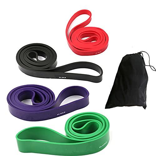 41'Bandas de Resistencia 208cm Fitness Goma Pull Up Crossfit Power Latex Expander Hanging Yoga Loop Band