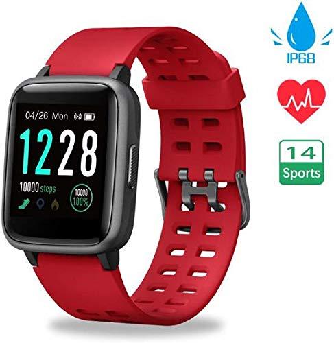 SmartWatch-Trends ID205 - Smartwatch - Rood