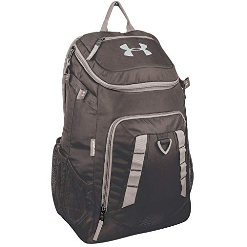 Under Armour Water Resistant Undeniable Baseball Softball Gear Bat Pack, Black