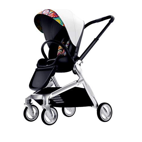 KPDVXA Leichter Kinderwagen, Kinderbuggy, Buggy Sportwagen, Legeposition, Legefunktion Sitzbuggy, Klappbar,a