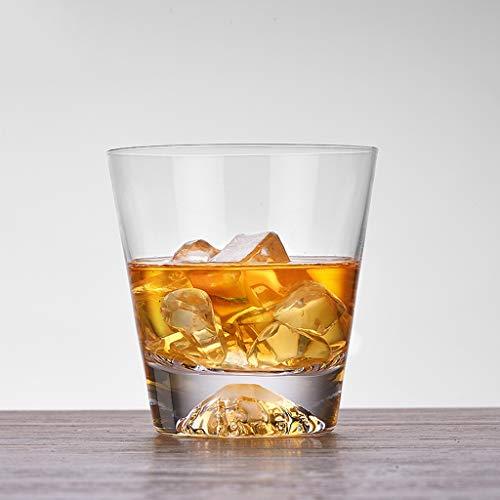 LRW Eenvoudige en de hoge kwaliteit Crystal Glasses Transparent Spirit Glaskop bierglas klein glas -300ml