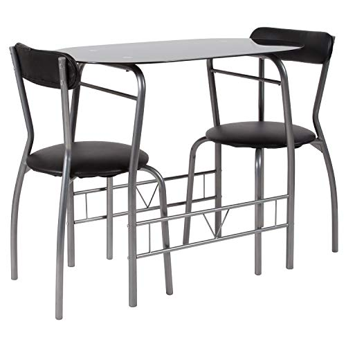 Flash Furniture Sutton 3-Piece Space-Saver Bistro Set  $74 at Amazon