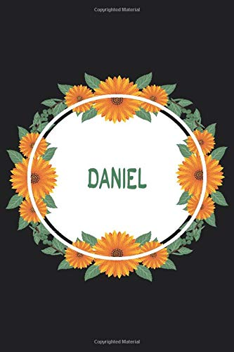 Daniel: Personalized Notebook   Daniel's Personal Writing Journal   Blank lined notebook   Note Taking for Daniel