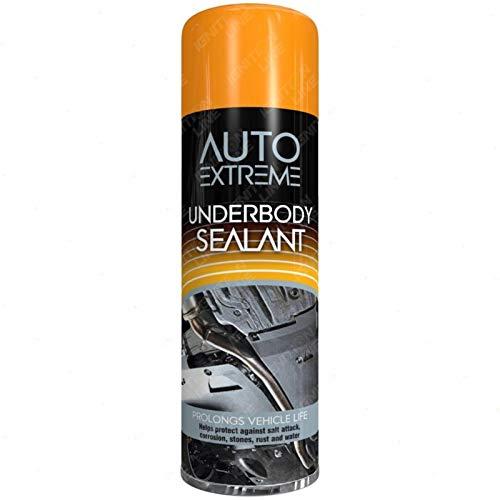 Car Underbody Sealant Black Rust Arches Sill Paint Under Body Spray Can...
