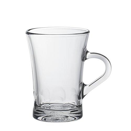 Duralex Amalfi 4001AR06A111 - Juego de 6 tazas de café (170 ml,...