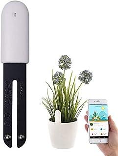 WANFEI Plant Monitor Soil Test Kit Flower Care Solar Tester ردیاب گیاه هوشمند سنسور گیاهان حسگر مانیتور بلوتوث برای سطح دمای باروری رطوبت نور ، برای iOS و Android