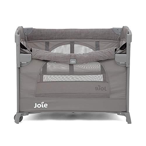 Joie P1807AAFGY000 Kubbie Sleep 2 in 1 Reisebett - Beistellbett Foggy Gray