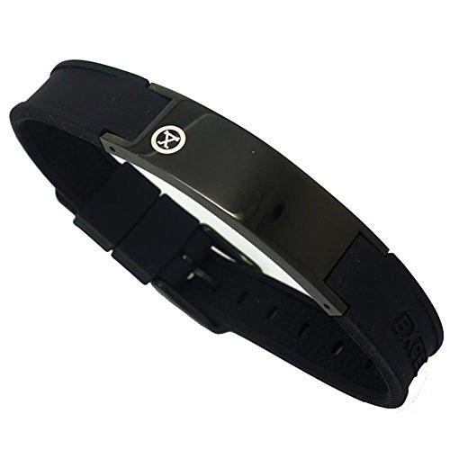 PROEXL Best Sports Golf Magnetic Bracelet Carbon Dark Black Gift Box