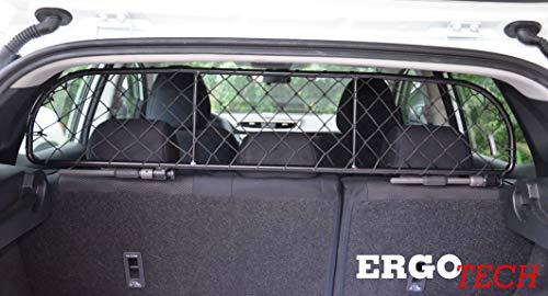 ERGOTECH Trennnetz Trenngitter Hundenetz Hundegitter für Nissan Qashqai BJ 2014-2017