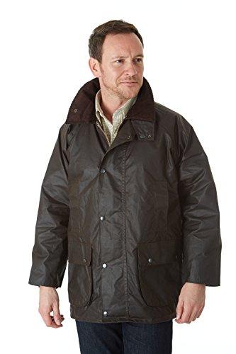 Sherwood Forest Hunting Wachsjacke für die Jagd, Braun, Größe XXL