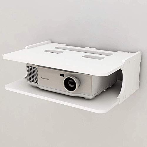 HAODA Soporte de proyector duradero sin perforación, estante multifuncional para TV Set-top, caja de almacenamiento de enrutador, soporte de pared para sala de estar, dormitorio