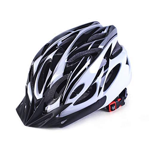 Casco de montaña,Casco de seguridad,Casco Bicicleta,Adecuado para montar en montaña,el diseño con múltiples ventilaciones es seco y transpirable,cómodo de llevar,circunferencia de la cabeza (53-60 cm)