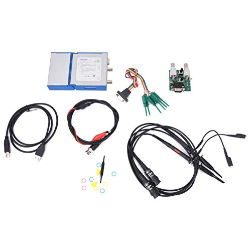 Portable OSC482 13MHz Signal Generator Measurement with 4 Channels Logic Analyzer for Production Line Maintenance
