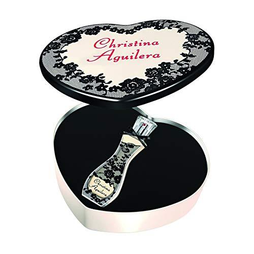 Christina Aguilera Signature cadeauset EDP + metalen hartje, 30 ml