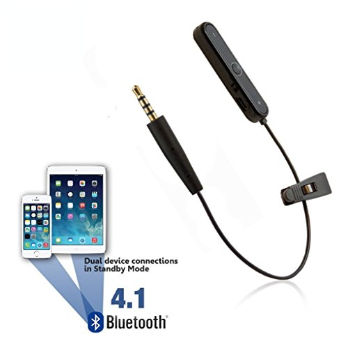 REYTID Wireless Bluetooth Adapter Converter Cable Compatible with AKG Y45BT Y50 Y40 Y55 K845BT K840KL Headphones