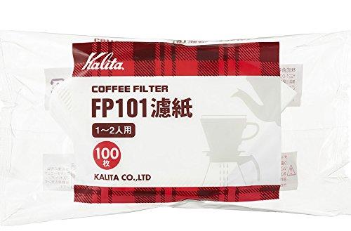 カリタ Kalita カリタ コーヒーフィルター FP101コーヒーフィルター 1~2杯用 ホワイト×200枚:100枚×2袋