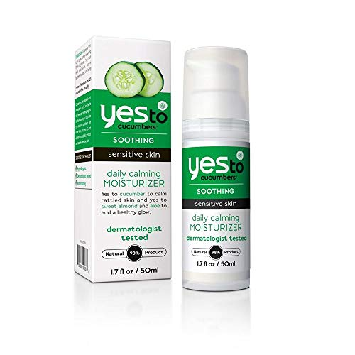 Yes To Cucumbers Daily Calming Moisturizer -- 1.7 fl oz