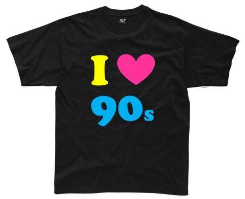 I LOVE THE 90s Mens T-Shirt B1 S