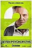 Seven PSYCHOPATHS - Christopher Walken – Wall Poster