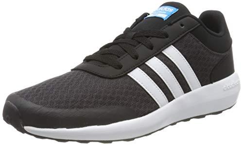 adidas CF Race K, Zapatillas de Deporte Unisex niños, Negro (Neguti/Ftwbla/Negbas), 38 EU