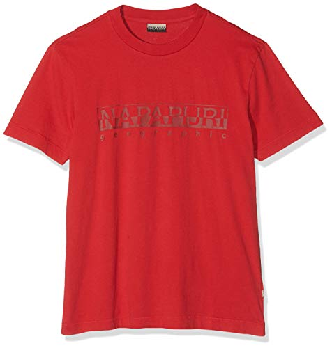 Napapijri Sevora Camiseta, Rojo (True Red R70), XX-Large para Hombre