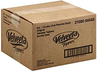 Velveeta Original Processed Cheese Sauce Pouch, 12 Ounce -- 8 per case.