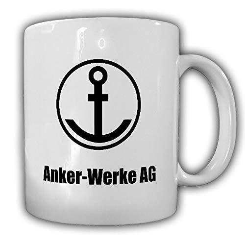 Anker Werke AG logo fiets motorfiets naaimachine bielefeld fan - mok #19412