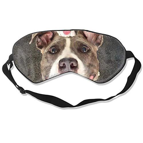 Preisvergleich Produktbild Augenmaske süße Suger Pitbull Hund Schlafmaske verstellbar atmungsaktiv Schlafmaske Schlafmaske Augenmaske Augenmaske Augenmaske Augenmaske