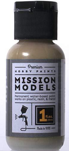 MISSION MODELS MMP-011 Dunkelgelb Dark Yellow RAL 7028 Acrylic Paint 1 oz (30ml)