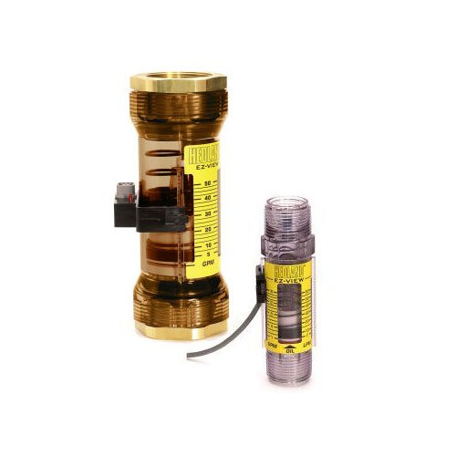 Hedland Flow Meters (Badger Meter Inc) H625-710 - Flow Rate Hydraulic Flow Meter - 10 gpm Max Flow Rate, 3/4 NPTF in Port Size