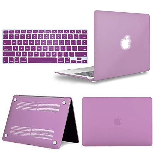 Matte Hard Shell Laptop Protector Case + Keyboard Cover For Apple Macbook Air Pro Retina 11 12 13 15