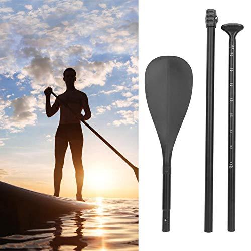 DAUERHAFT Paletas de pie de aleación de Aluminio súper Ligeras Antideslizantes Paleta para niños para Kayak para Bote Inflable para Tabla de Surf
