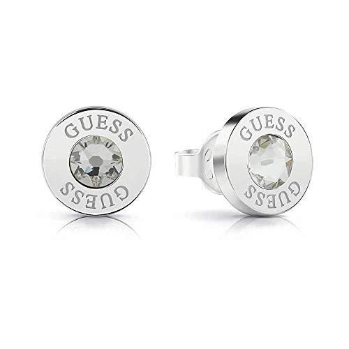 Glänzende Guess-Ohrringe rhodiniert Edelstahl Crystals chirurgische UBE78094 [AC1147]