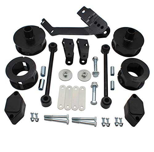 """2.5"""" Suspension Lift Kit, Compatible with 07-18 Jeep Wrangler and Wrangler Unlimited JK #635"""