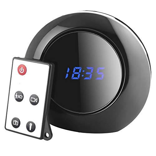 Mengshen Mini 1280x960 HD Detección de Movimiento espía Despertador ocultado Cámara videocámara 140 ° Ángulo de visión 30fps Detección de Movimiento MS-V8