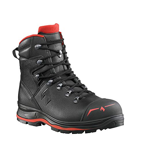 Haix Trekker Pro 2.0 S3 Gore-Tex - Botas de trabajo de seguridad impermeables, color Negro, talla 42 1/3 EU