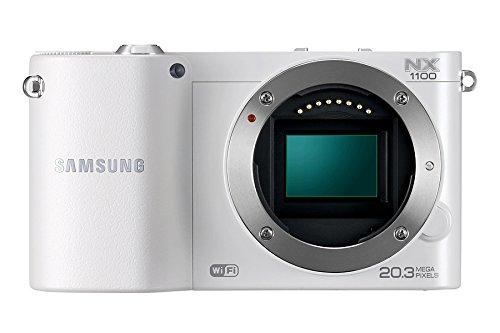 'Samsung NX1100Kamera Evil mit 21.6MP (3Display, optischer Bildstabilisator, Full HD Video), weiß