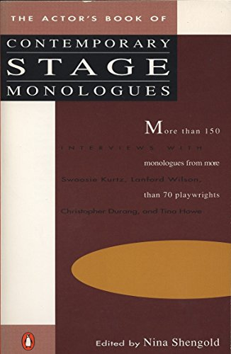 The Actor's Book of Contemporary Stage Monologues: More Than 150 Monologues from More Than 70 Playwrights