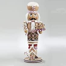 Kurt Adler 16-Inch  Wooden Gingerbread Christmas Nutcracker