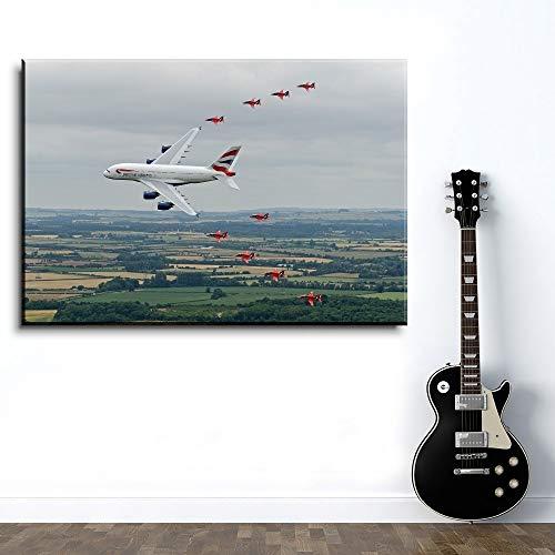 keletop 1000pcs_Wooden Adult Puzzle_Airbus Aircraft Spectacular_ Diviértete y diviértete Jugando con Amigos y Familiares_50x75cm