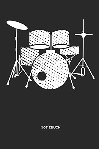Notizbuch: Schlagzeug Notizbuch   Notizbuch für Schlagzeuger, Drummer und Schlagzeugschüler, Kinder, Jugendliche, Frauen und Männer