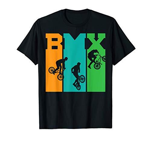 Fahrrad Bmx Tshirt Retro Geschenk -  Bmx Tshirt Retro