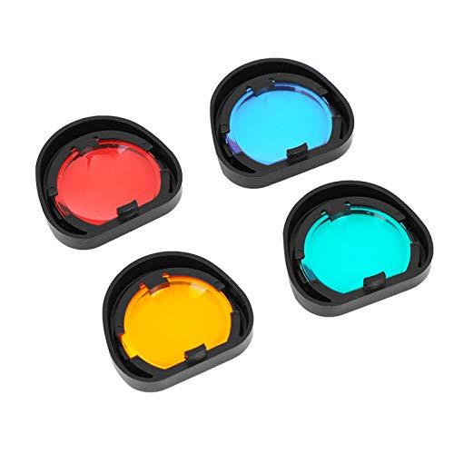 SALUTUYA Filtro de Colores 4 Colores Robusto y Duradero, para Fujifilm Instax Mini 90